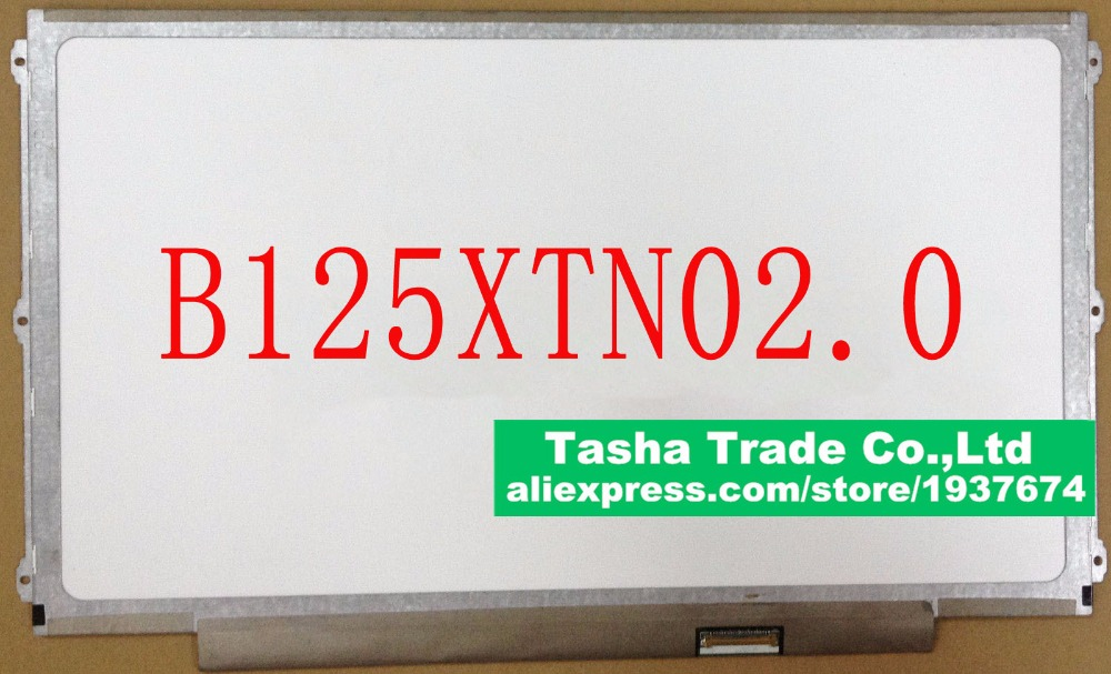 B125XTN02.0 B125XTN02 0 eDP 30 pin LED LCD Ekran Paneli Matrix