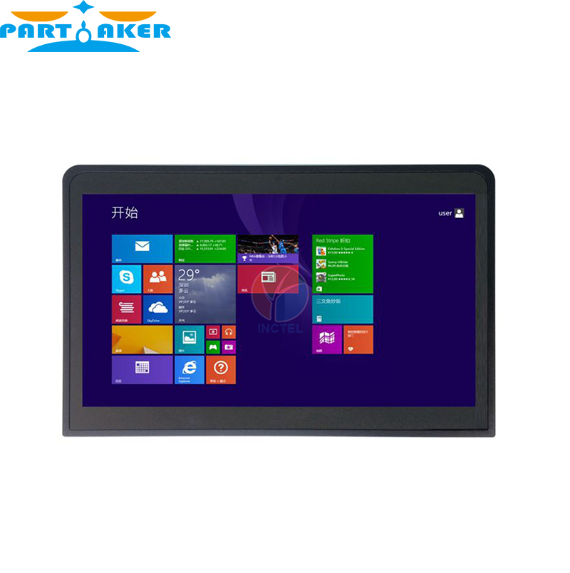 14 Endüstriyel Düz Panel Tablet PC ile Gömülü All in One Touch Ekran Bilgisayar 1G RAM 24G SSD